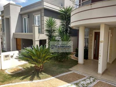 Casa Com 4 Dormitórios Para Alugar, 400 M² Por R$ 5.500/mês - Swiss Park - Campinas/sp - Ca3357