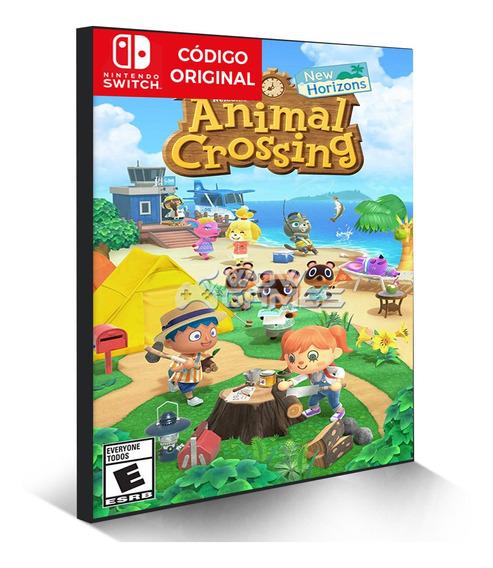 Animal Crossings New Horizons - Nintendo Switch Código Eshop