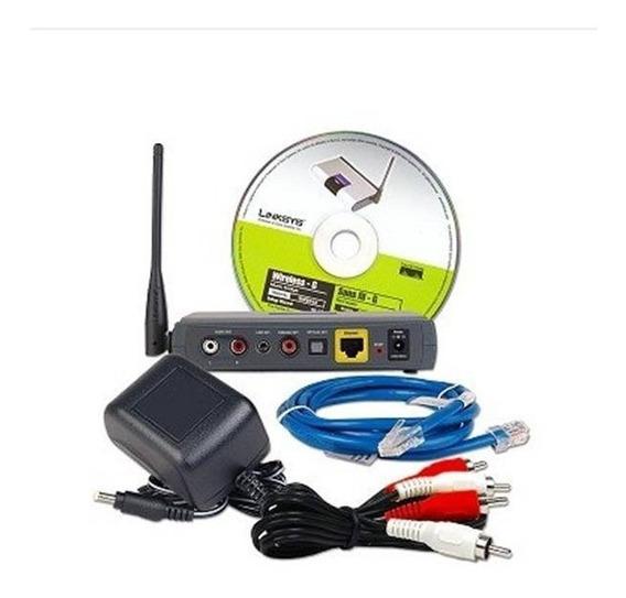 Wireless G Linksys Sistema De Música Inalambrico