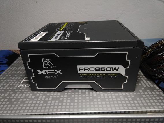 Fonte Atx Xfx 850w Pro Core Edition 80 Plus (leia Descrição)