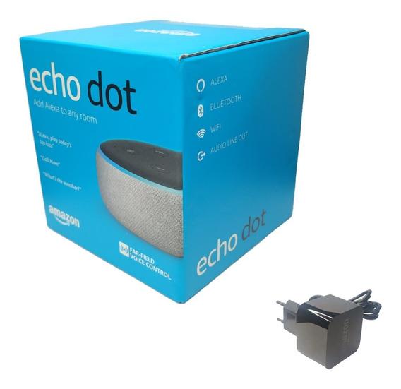 Smart Speaker Amazon Alexa Echo Dot 3 Original
