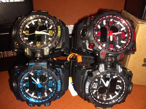 Relógio Shock Black C/ Lata Caixa Original + Brinde Grátis !