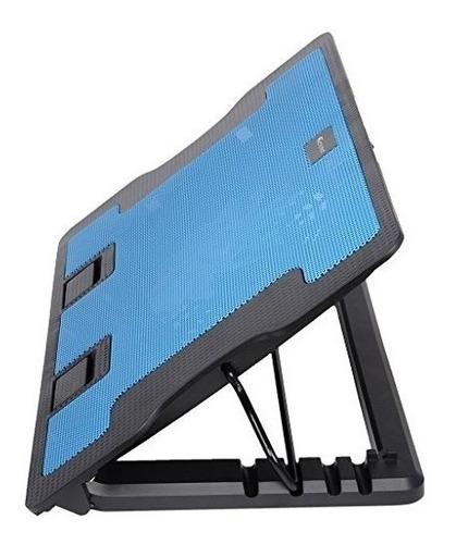 Base Refrigerante Cooling Pad 2 Ventiladores 5 Niveles Lapto