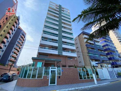 Apartamento Com 2 Dormitórios À Venda, 70 M² Por R$ 371.000,00 - Jardim Marina - Mongaguá/sp - Ap2874