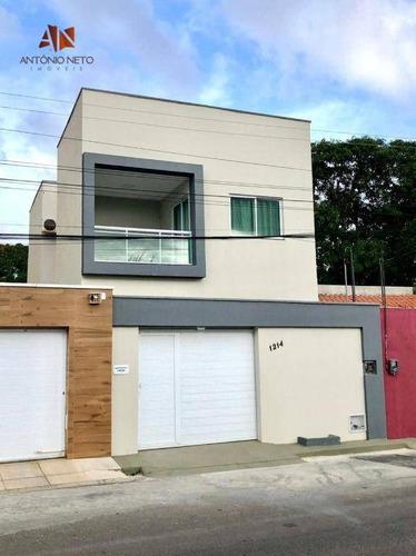 Imagem 1 de 26 de Casa Duplex À Venda No Jóquei Clube/joão 23 Em Fortaleza/ce - Ca0242