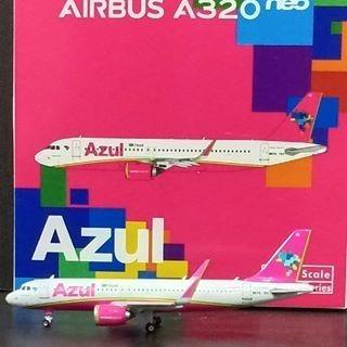 Airbus A320neo Azul - Phoenix Models - 1/400 - Novo