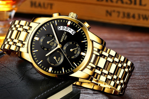 Relógio Top De Luxo Novo Na Caixa