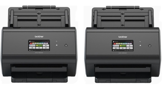 2x Scanner Brother Ads-2800w Ads2800