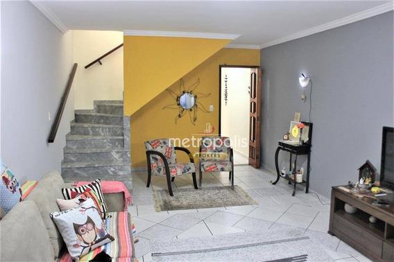 Sobrado Com 3 Dormitórios À Venda, 142 M² Por R$ 695.000 - Santa Paula - São Caetano Do Sul/sp - So0786