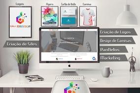Logomarcas, Sites, Videos Empresarial, Cursos.