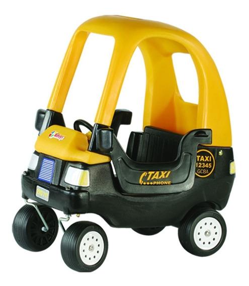 Taxi Rotoys Auto Cupe Autito Caminador - Garantía Rotoys