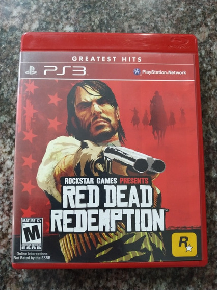 Red Dead Redemption Ps3 Mídia Física Seminovo