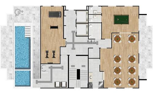 Imagem 1 de 3 de Apartamento - Venda - Forte - Praia Grande - Mgq333