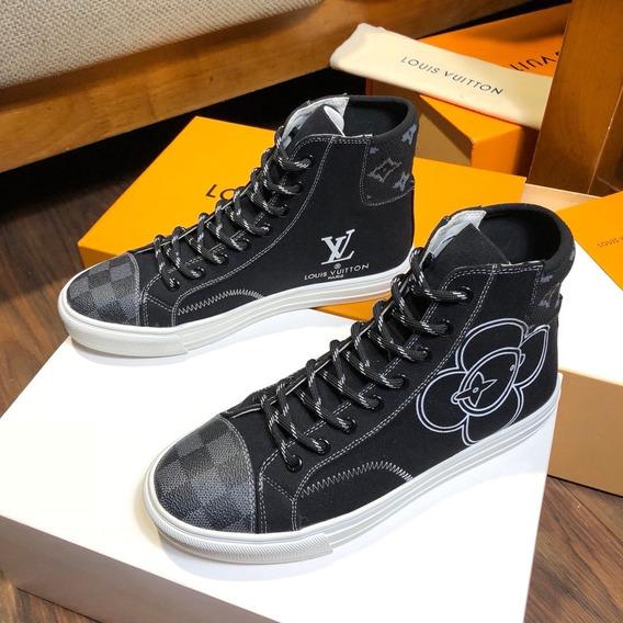 Tênis Louis Vuitton Creeper Tatoo Sneaker Boot 74