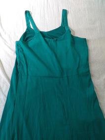 Vestido Evangélico Verde Chique