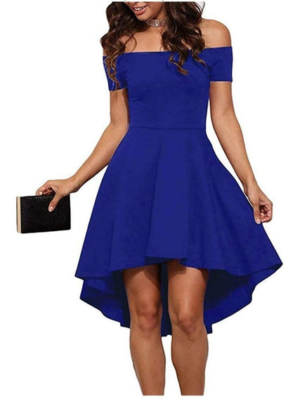 Vestido Cótel Corto Juvenil Toda Ocasión 15 Dama Elegante