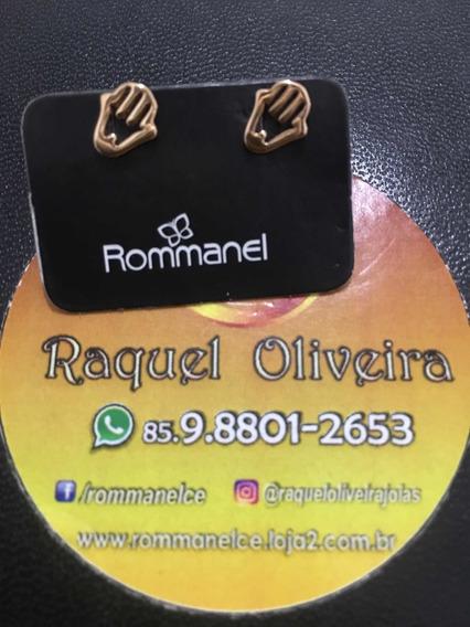 Brinco Rommanel Mãos De Fátima