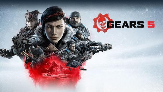 Gears Of War 5 + 1 Jogos (mídia Física) Pc - Dvd