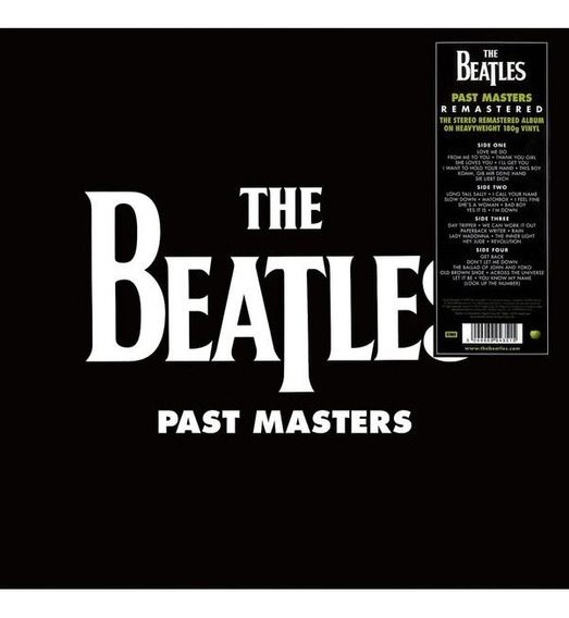 The Beatles Past Masters Vinilo Doble 2 Lp Nuevo Importado