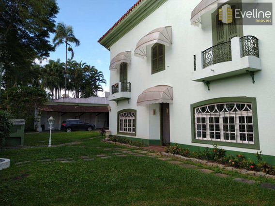 Vila Oliveira - Casa Comercial Para Locação - 4 Dms (2 Suítes) - A857