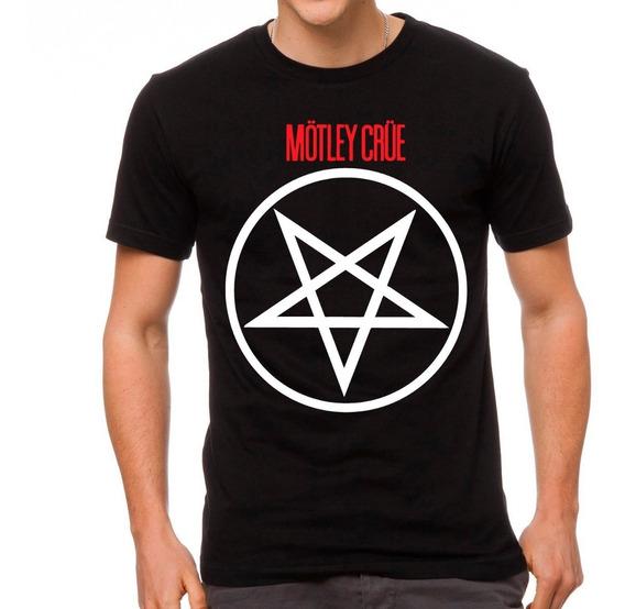 Playeras De Metal Cleen Alexe Mötley Crüe Modelos Nuevos 5