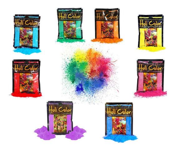 Holi Color Polvo 50grs Fiesta Eventos Barata La Golosineria