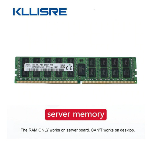 Memória De Servidor Ddr4 16 Gb 2133 Mhz Ecc Reg