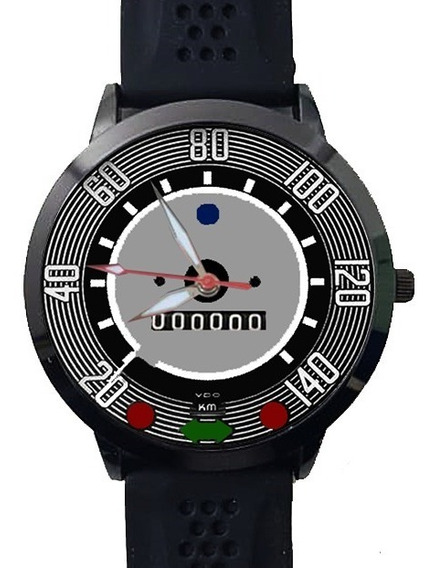 Relógio Painel Velocimetro Fusca 140 Colecionador Black Top
