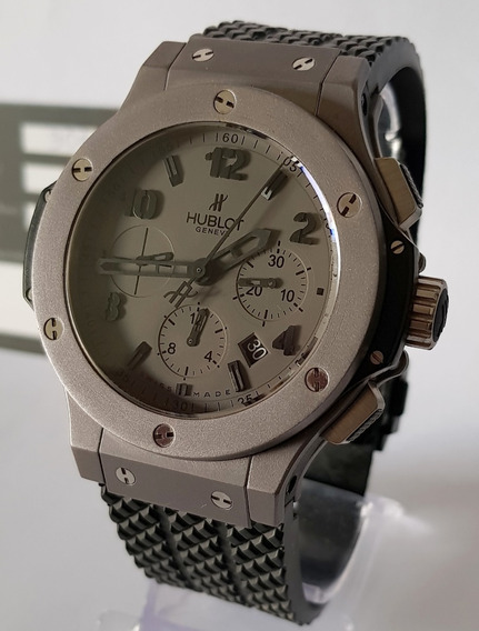 Hublot Big Bang Chrono 44mm Tantalum Completo Revisado Rolex