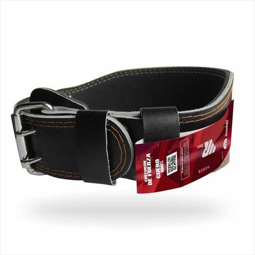 Cinturon Para Pesas Gimnasio Gym En Cuero Hombre