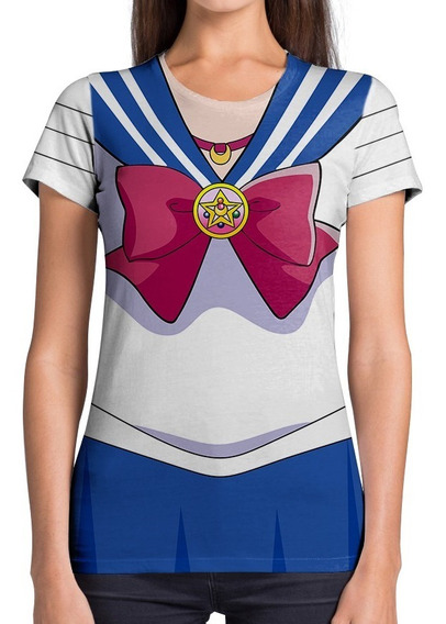 Remera Dama Sailor Moon Manga