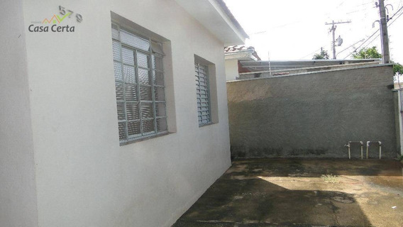 Casa Residencial À Venda, Jardim Santo Antônio, Mogi Guaçu. - Ca0805