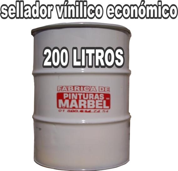 Sellador Vinílico Económico Tambor 200 Litros