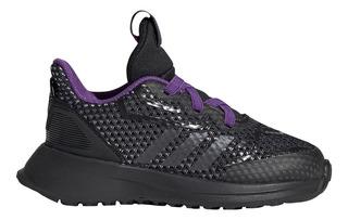 Zapatillas Adidas Plateadas Con Resortes Ninos Deportes y
