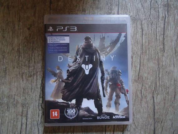 Jogo Destiny Playstation 3 Mídia Física