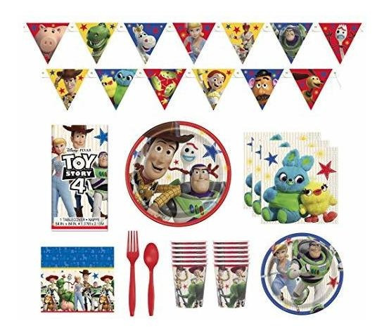 Toy Story 4 Party Supplies Birthday Decorations And Tablewar