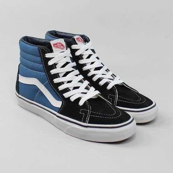 Vans Sk8-hi Azul Marinho/preto