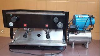 Cafetera Express A Gas 2 Canillas C/ Equipo