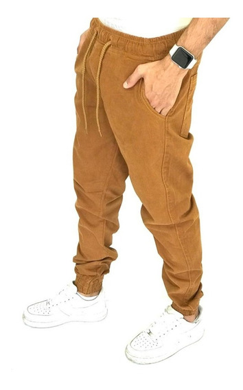 Calca Jogger Com Elástico Militar Camuflada Masculina