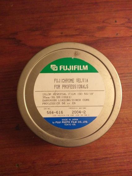 Filme 35mm Slide Fujifilm Fuji Velvia 50 36 Poses - 3 Filmes