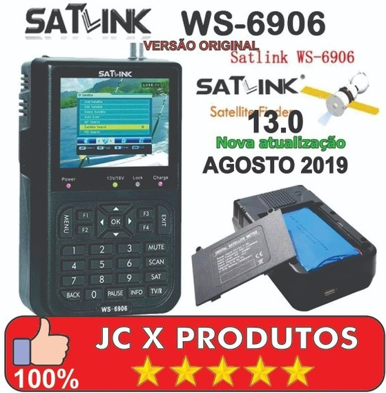 Atualização Satlink 6906 Original Versão 12.0 Maio 2019