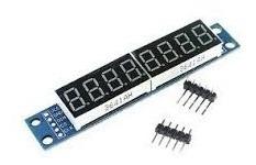 Modulo Display 8 Digitos 7 Seg Max7219 Pic/arduino (000224)