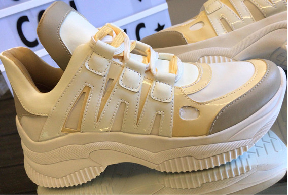 Tênis Casual Chunky Dad Sneaker Sola Alta Flatform Original