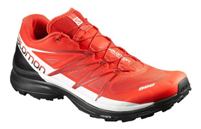Tenis Salomon Running Correr Unisex Rojo S-lab Wings 8