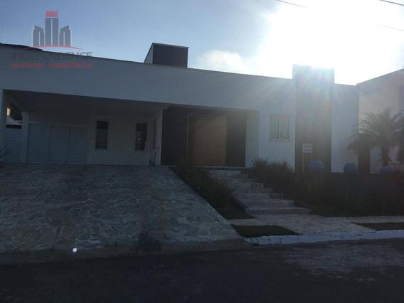 Casa Alto Padrão Com 3 Dormitórios À Venda, 380 M² - Residencial Santa Helena - Caçapava/sp - Ca0675