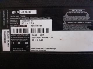 Par De Parlantes Más Control Remoto LG 43lh5100