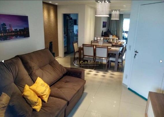 Apartamento Com 3 Dormitórios À Venda, 84 M² Por R$ 691.000 - Jardim São Caetano - São Caetano Do Sul/sp - Ap0952