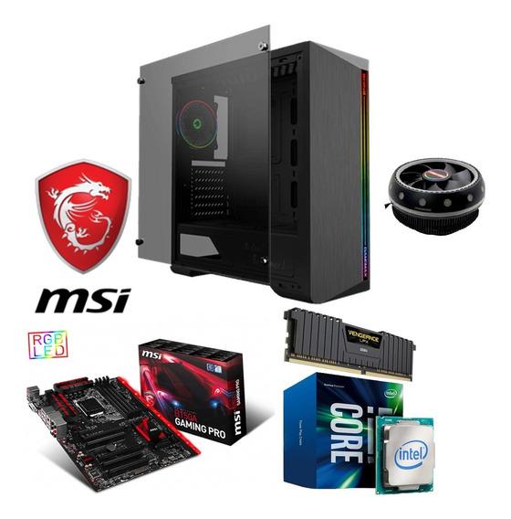 Pc Gamer Intel I5 8º Geração 512gb Ssd Video Gtx750 8gb Ram