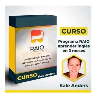 Programa Raio De Kale Anders Completo. Curso De Ingles.