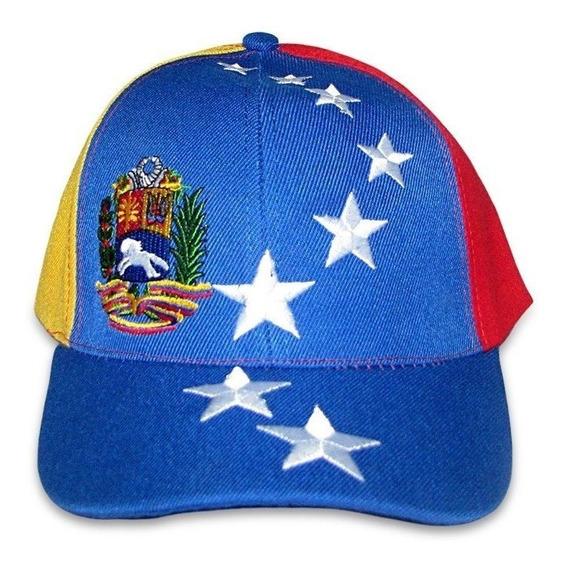 Gorra Tricolor De Venezuela Solo Al Mayor (tienda Fisica)